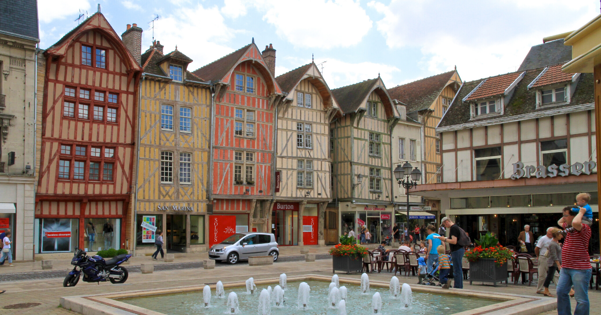 Troyes - Shopping